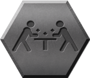 Harnkegger Event Logo - Dwarrow Dice (G)