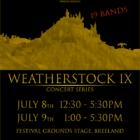 Weatherstock Concert Series