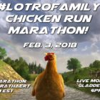 LOTRO Family Chicken Run Marathon